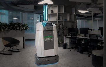 Сбербанк разработал робота для борьбы с коронавирусом