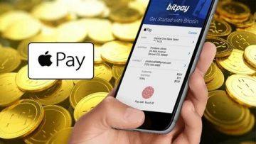 Apple Pay начали принимать оплату биткоинами